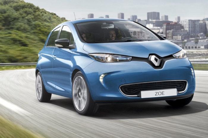 Auto elettrica Renault Zoe