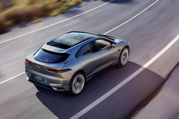 SUV elettrico Jaguar i-PACE