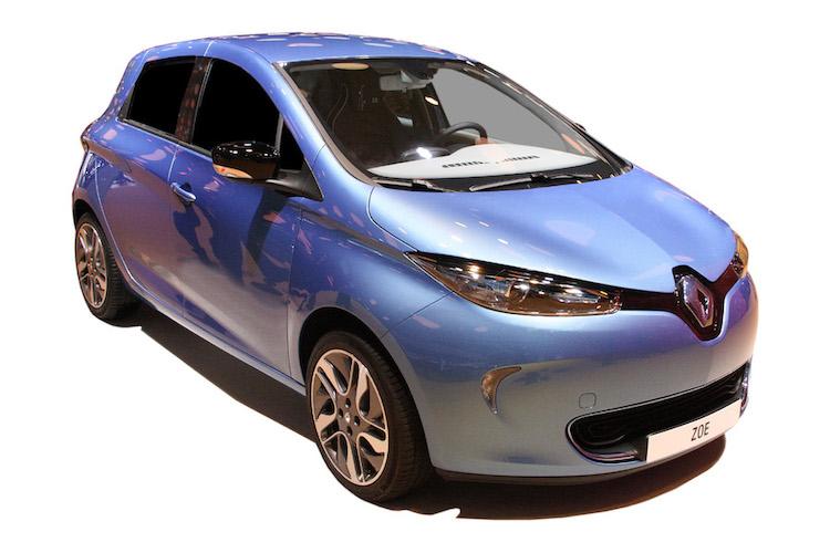 Renault Zoe auto elettriche