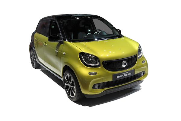 Smart EQ Forfour Auto Elettriche