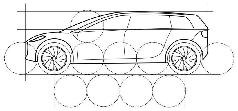 Disegno tecnico Dyson