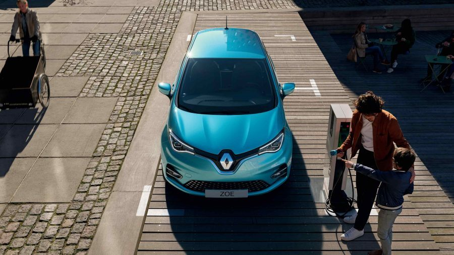 Nuova Renault Zoe elettrica