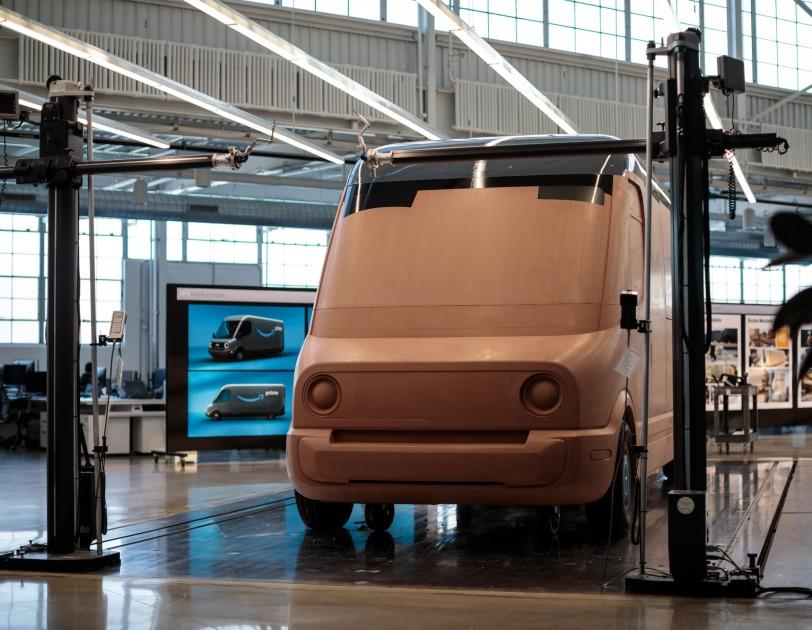 Nuovo furgone Rivial per Amazon