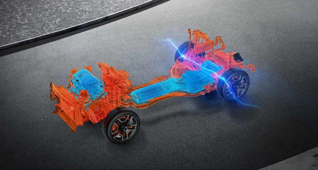 Jeep Renegade 4xe auto elettrica