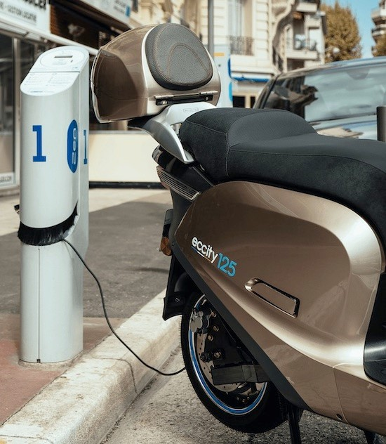 scooter elettrico eccity 125