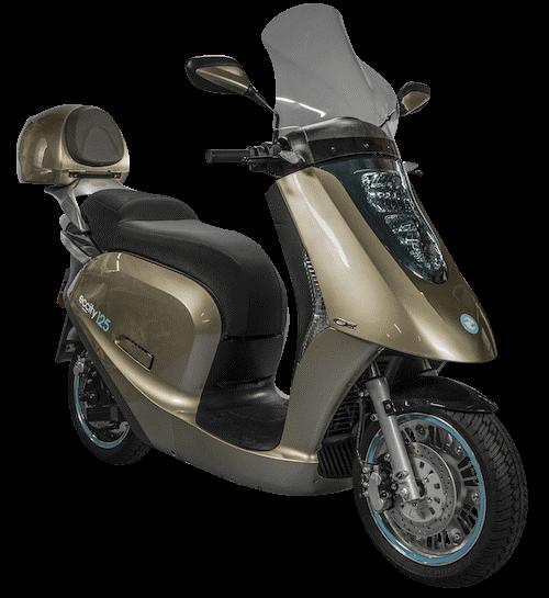 Eccity 125 e-scooter