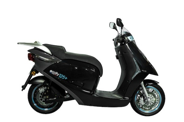 Eccity 125+ e-scooter