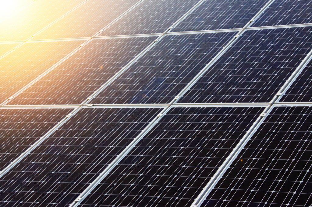 Pannelli solari per energia pulita