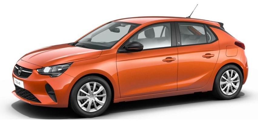 Auto elettrica Opel Corsa