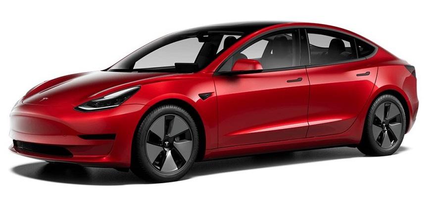 Auto elettrica Tesla Model 3