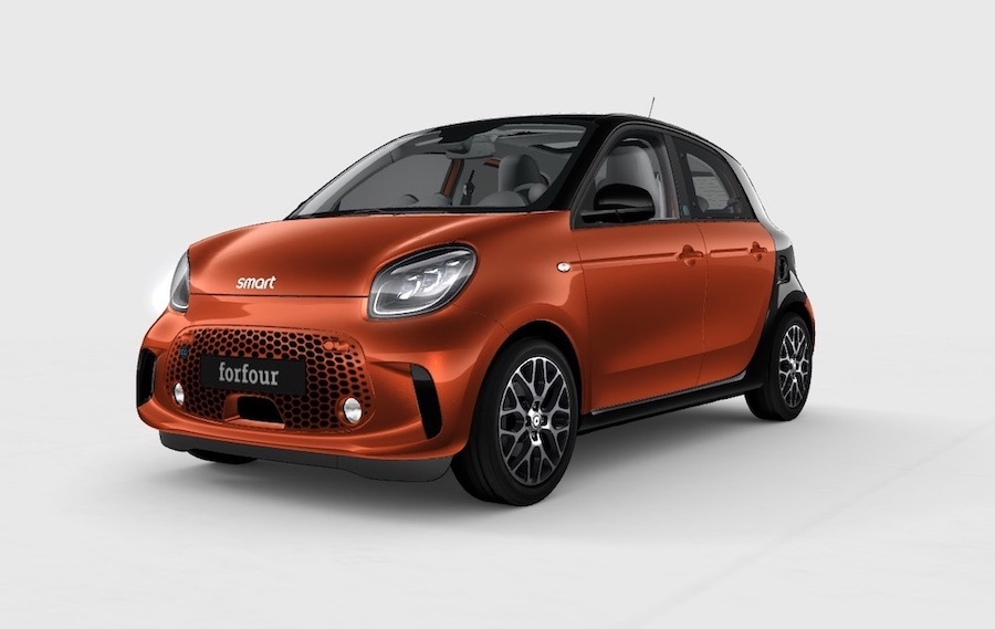 smart forfour veicoli elettrici
