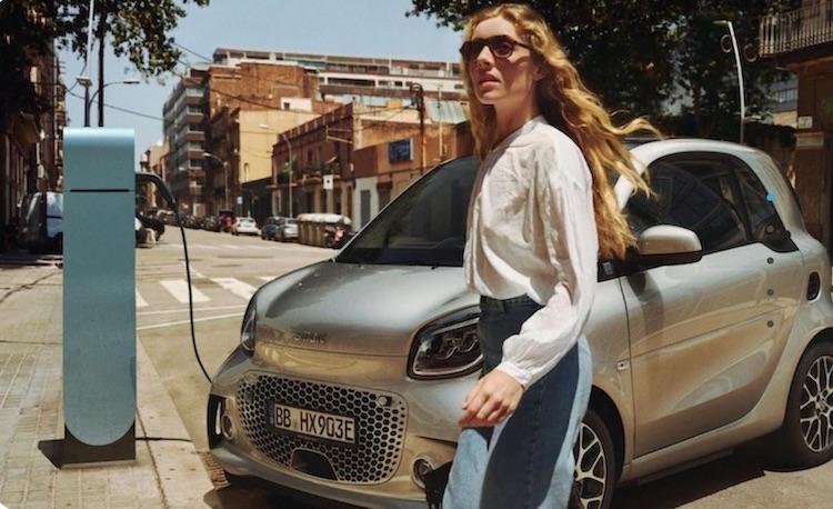 auto elettrica smart