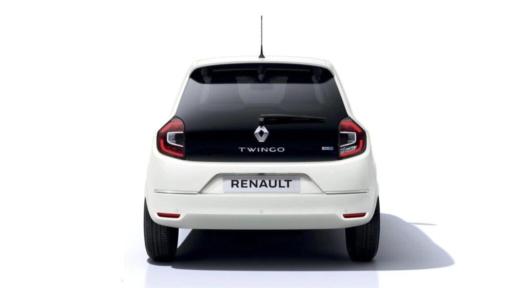 Auto elettrica Renault Twingo