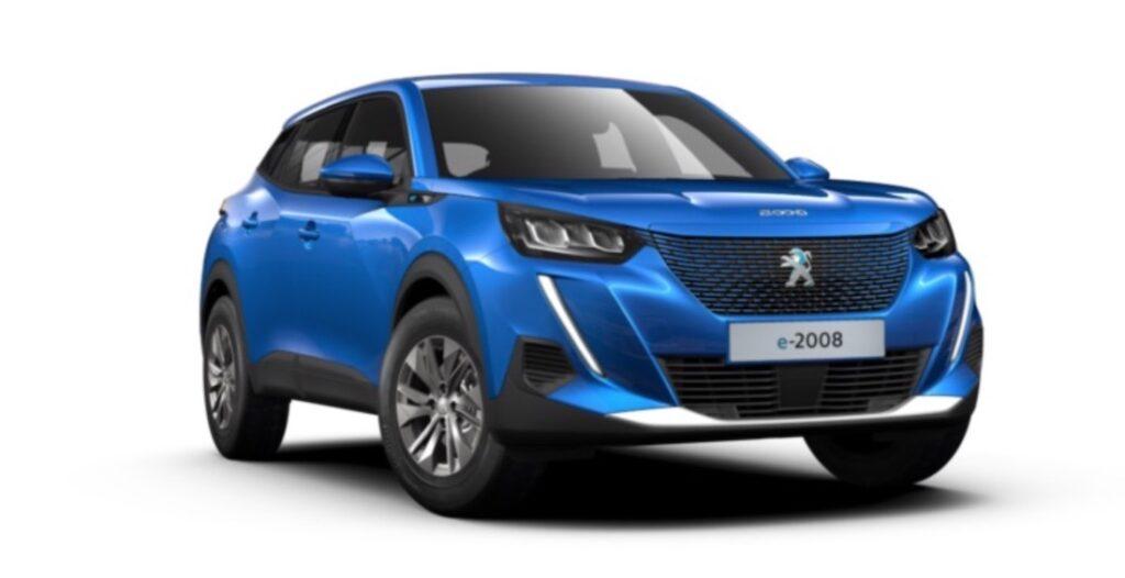 Peugeot e-2008 SUV veicoli elettrici