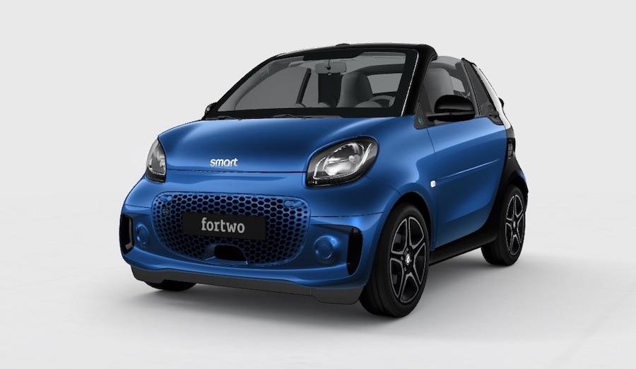 Smart EQ Fortwo Cabrio elettrici