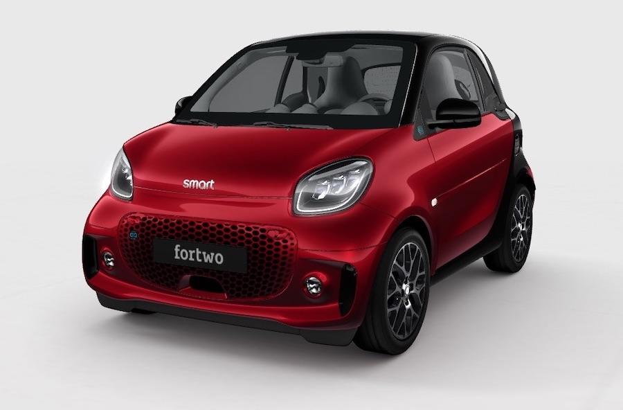 smart fortwo veicoli elettrici
