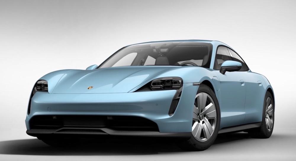 elettrico Porsche Taycan