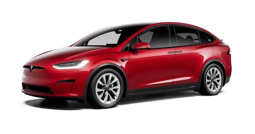 tesla model X auto elettrici