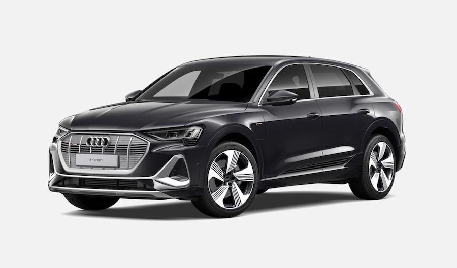 Audi e-tron veicoli elettrici
