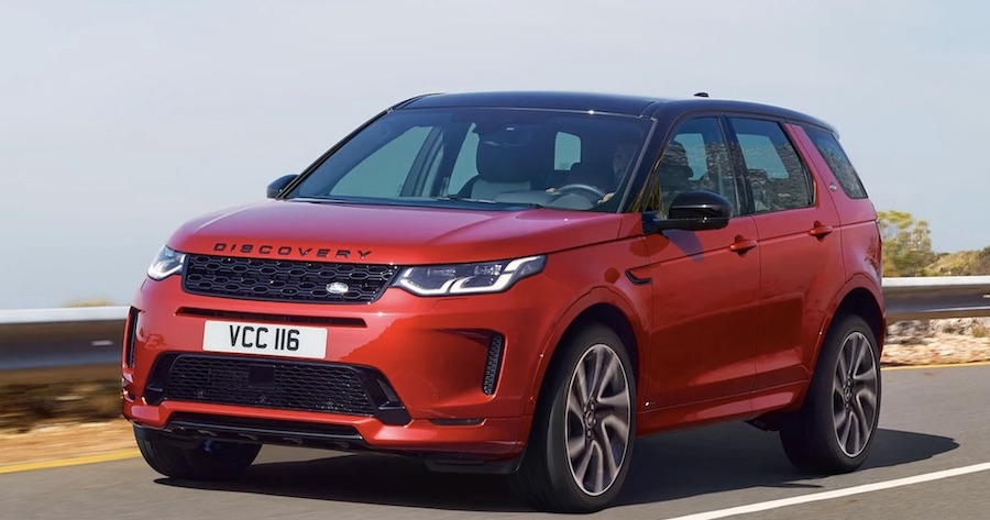 Land Rover Discovery Sport ibrido plug-in