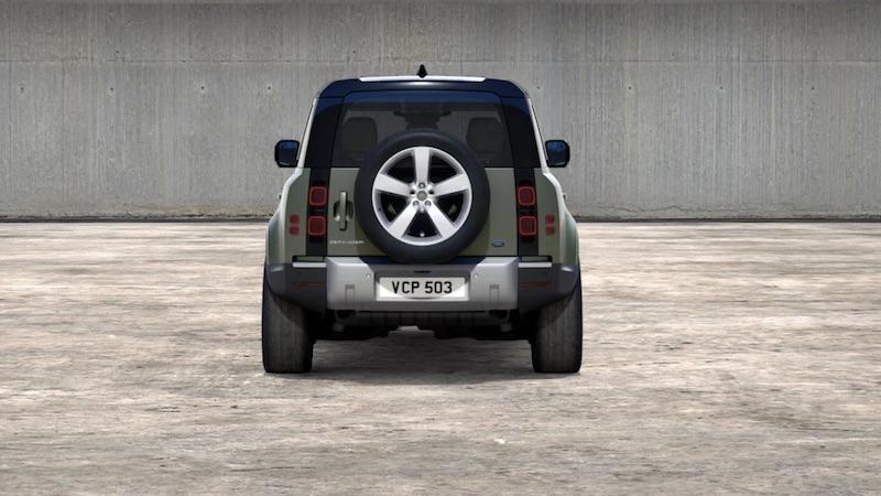 Land Rover Defender 110 ibrido plug-in