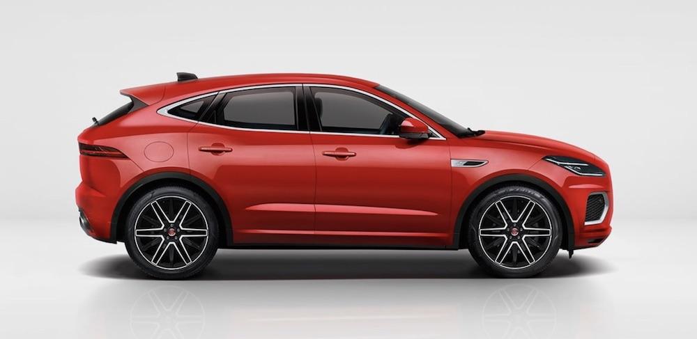 jaguar e-pace elettrica