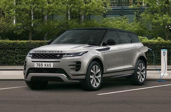 Land Rover Range Rover Evoque ibrido plug-in