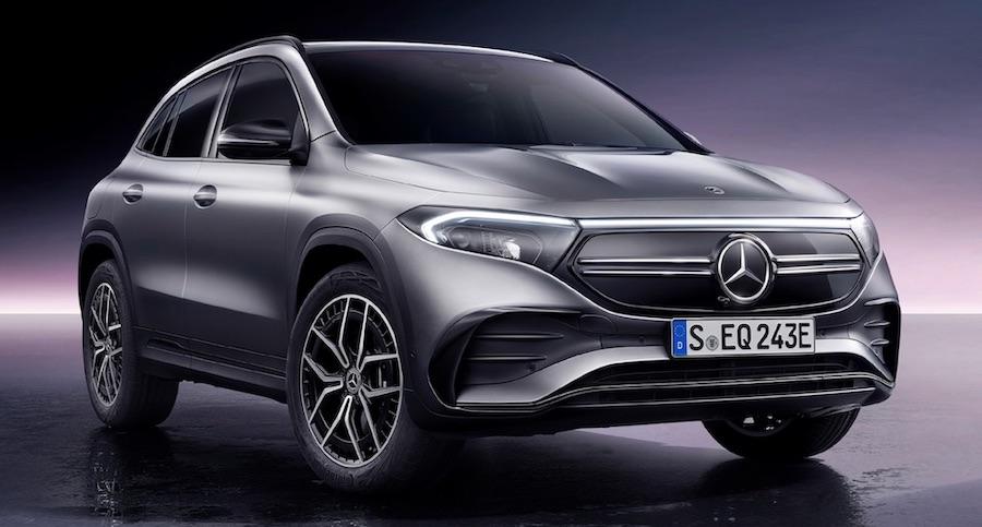 Mercedes Benz EQA suv elettrico