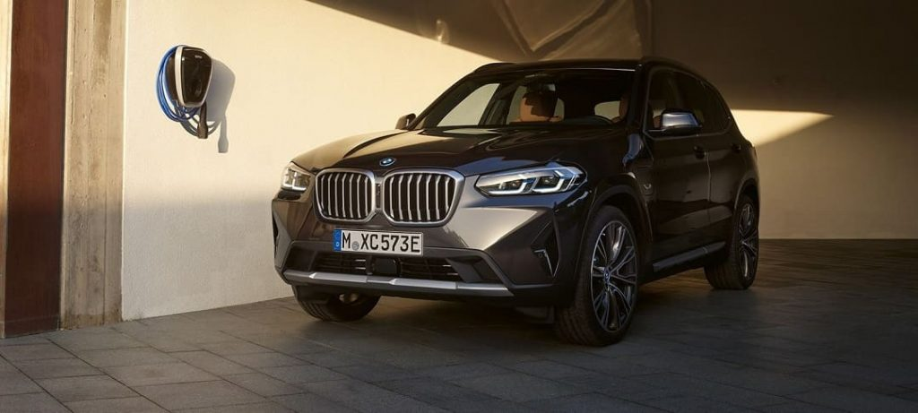 BMW X3 SUV plug-in hybrid