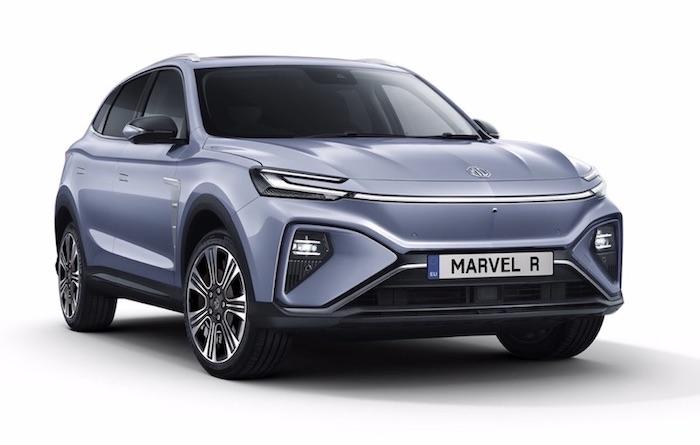 MG Marvel R SUV elettrico